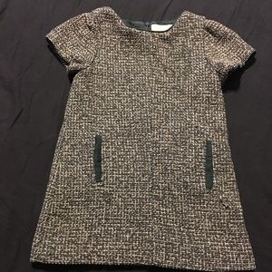 ❤️Zara tweed dress perfect for winter with tights!